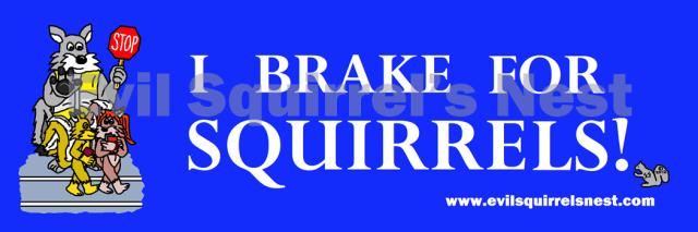 i brake for squirrels