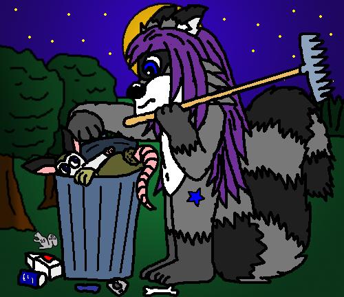 the possum hunter!