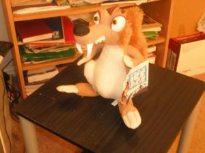 ice age squirrel plush