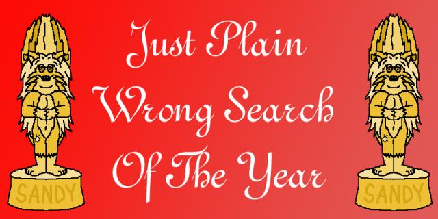 award wrong