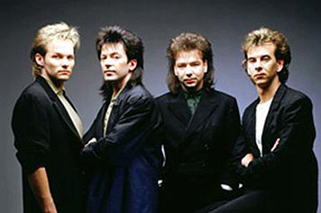 The Cutting Crew, or perhaps four random guys with 80's hair.