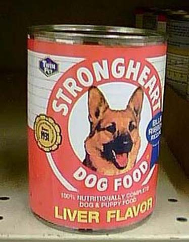 Paul Newman Dog Food