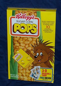 A porcupine selling children's cereal... the most fucking brilliant corporate mascot decision in history!