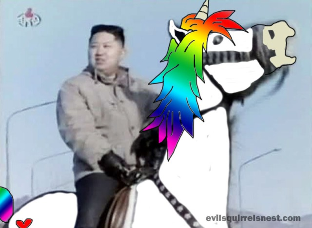 We only want unicorns in the Democratic People's Republic of Korea!