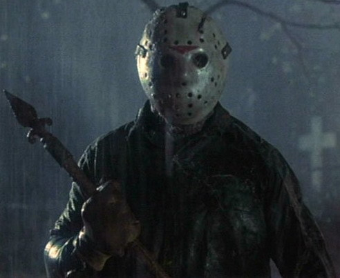 Time to go back into that crypt until January, Jason...