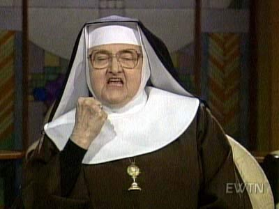 And yet somehow, Mother Angelica became one of the biggest cable TV stars of the 80's.