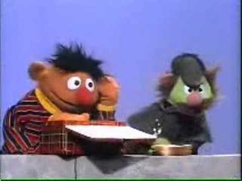 A-HA!!!  I have deduced that it was the evil Bert who put a hocker in your sandwich!
