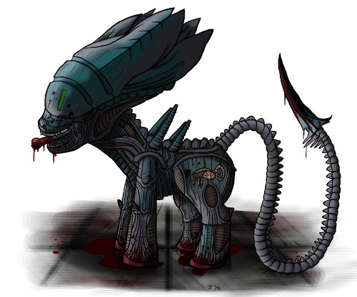 No, it won't be about alien ponies..... maybe.