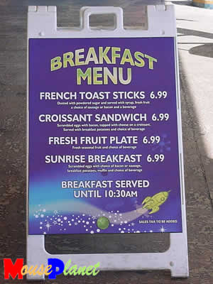 How about you serve me some French Toast Sticks and just all it lunch?