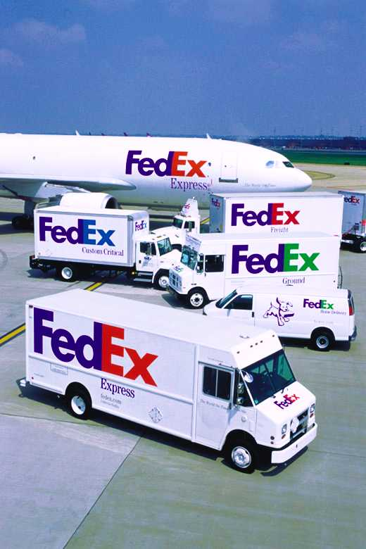 Excuse me, but have any of you seen the Federal Express truck?  I have an urgent package to send to Kentucky Fried Chicken...