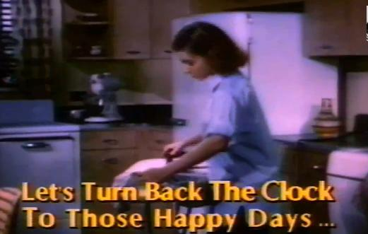 Yes, she looks so happy as she irons her life away for her family.  Mary Alice would be so proud!