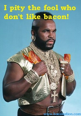 Mr. T supports more than just cereal for breakfast.  Just be careful about what's in that milk...