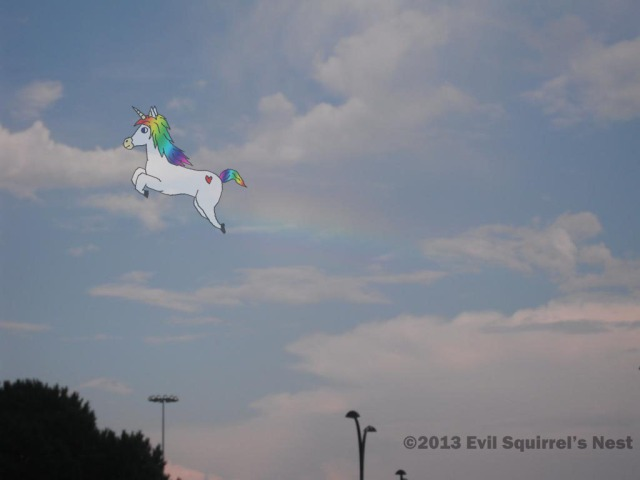 Don't mess with unicorns!