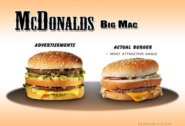 Plastic surgery for hamburger models  just leads to unrealistic expectations for common ordinary burgers out there.