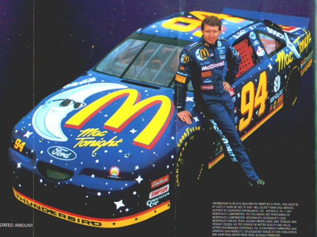He did help Bill Elliott lose a handful of Winston Cup races in 1997.