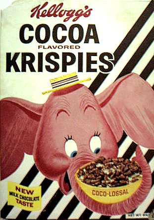 It's Coco-LOSSAL!  And the chocolaty milk tastes even better mixed with elephant snot!