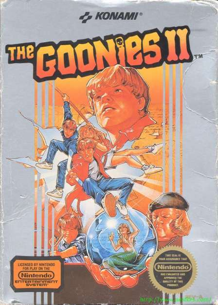 Oh good!  They made a video game based on... wait a minute!  When did they make a sequel to The Goonies!?!?