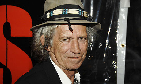 You'll pay for that deal you made with the devil, Keith Richards!