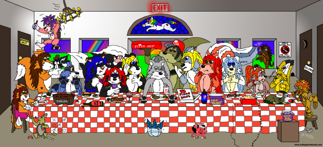 Evil Squirrel's Last Supper
