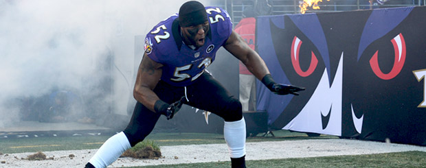 Ray Lewis would've killed anybody who didn't watch his Ravens win the Super Bowl.
