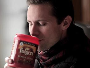 Snorting Folgers is not recommended...