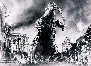 This was Amy's answer... I swear to Godzilla!