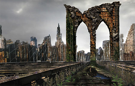 Don't mind the civilization crumbling around you... you've got all the time you need!