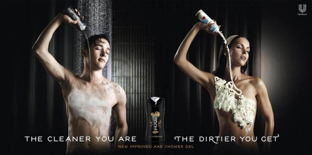 Heck, Axe's creative team does porn better than those who make the real thing!