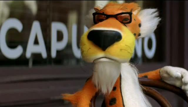 What do you get when you mix a cheetah with Col. Sanders and Dr. Wily?
