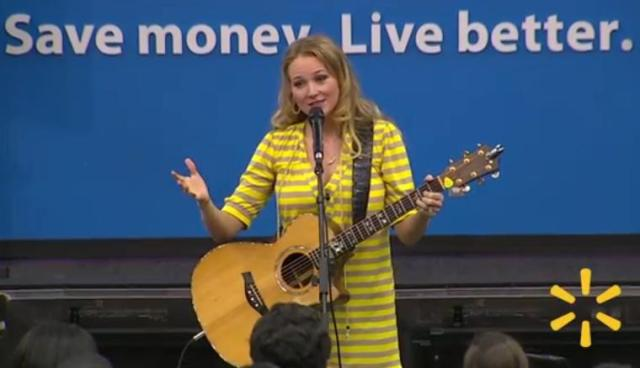 Sorry.  The CD broke, so they asked me to come to the store and sing in person.
