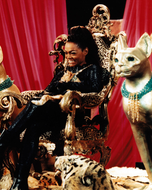 Don't worry, Eartha.  You'll always have Catwoman to fall back on.