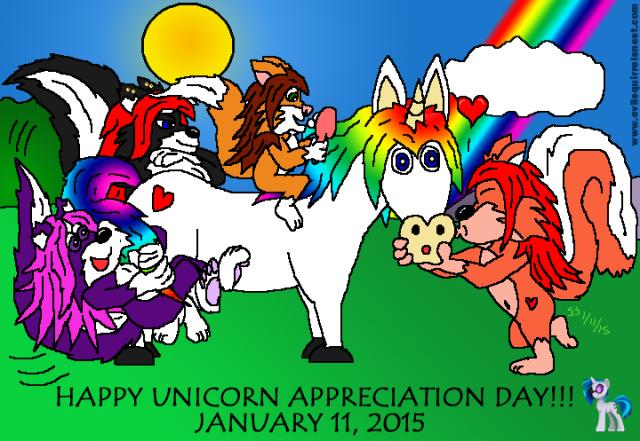 unicorn appreciation day