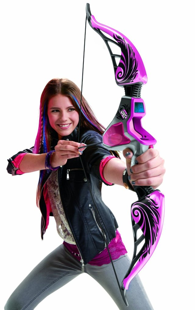 Take a boys toy and repaint in punk and purple, and suddenly it's a girls toy.  Funny how that works...