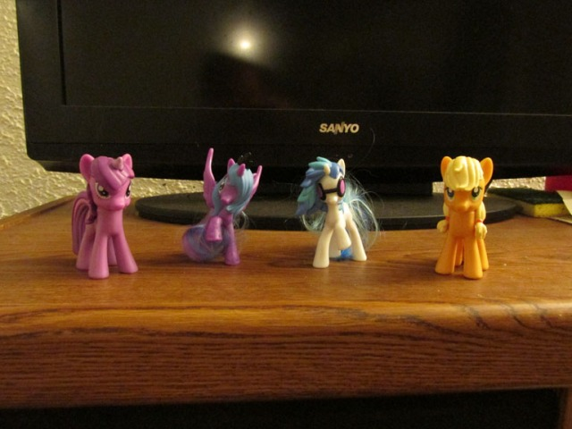 I still wouldn't tell anyone I have pony figurines, though...
