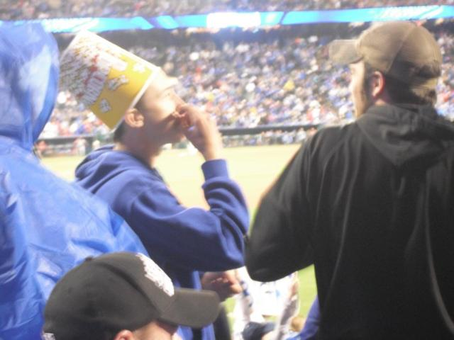 I'd very much like to leave the popcorn bucket at home...
