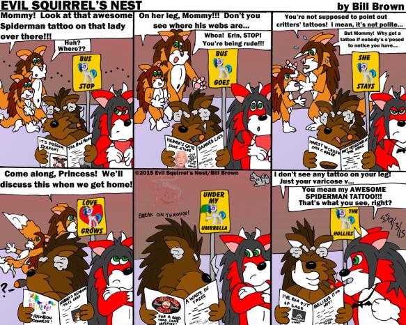 Evil Squirrel's Nest Comic #175 — 9/3/15 | Evil Squirrel's Nest