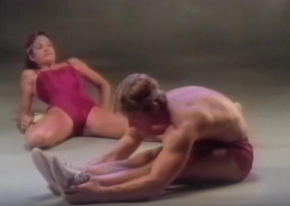 Contrary to popular belief, not all 80's workout gear was sexy.