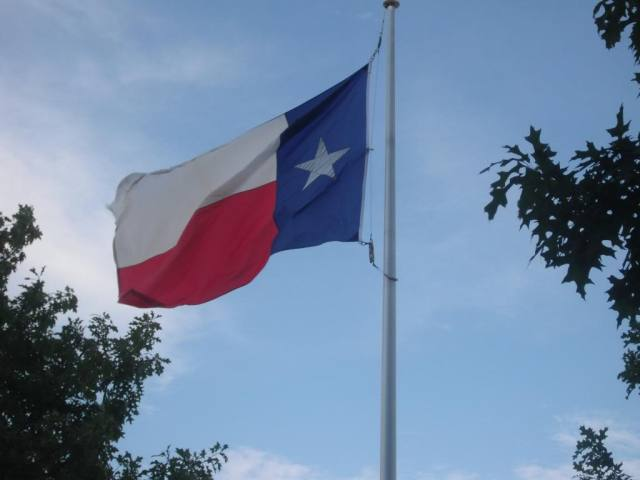 Please rise for the Texas National Anthem...