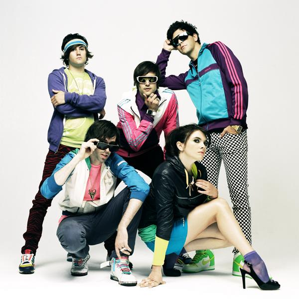 Did we overdress in our pseudo-80's wardrobe for our appearance today?