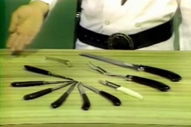 Go ahead and stab it with our steely knives!