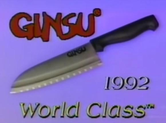 The Ginsu World Class can cut the Earth in half, yet still create razor thin potato chips to go with all that hot magma!