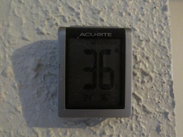 That's Fahrenheit, my international friends.  Don't grab the sunscreen...