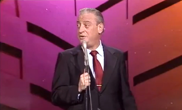 My favorite Rodney Dangerfield gag... his neighborhood was so tough, the guys used to bowl overhand.