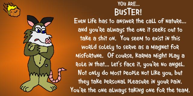 buster quiz