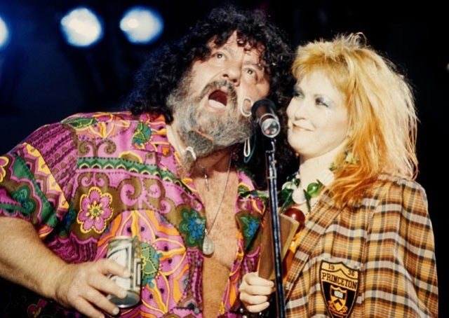 Everything is better with a little Captain Lou Albano.