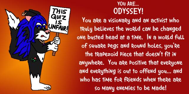 odyssey quiz