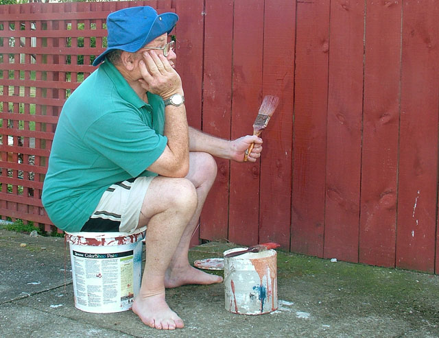 The alternative will be watching paint dry... so participate or pull yourself up a bucket.