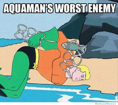 But at least he was more successful than Aquaman.