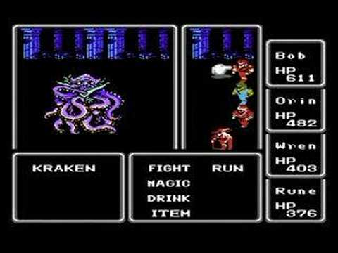 Final Fantasy also released the Kraken long before it was cool to do so...