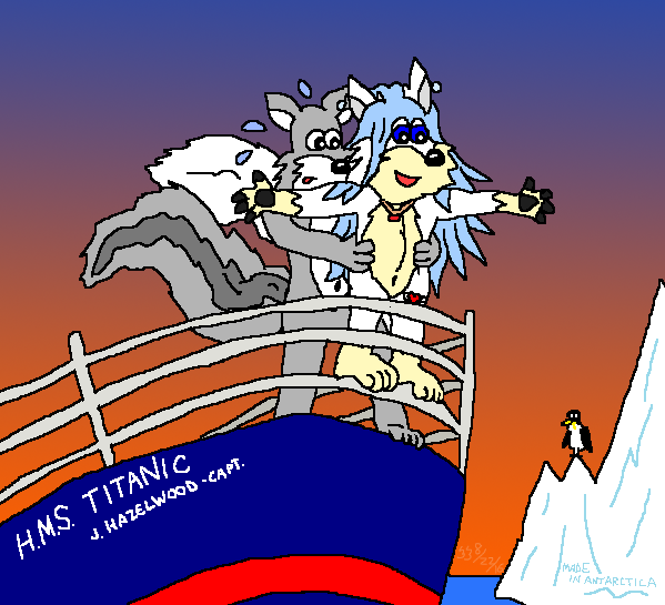 titanic squirrels